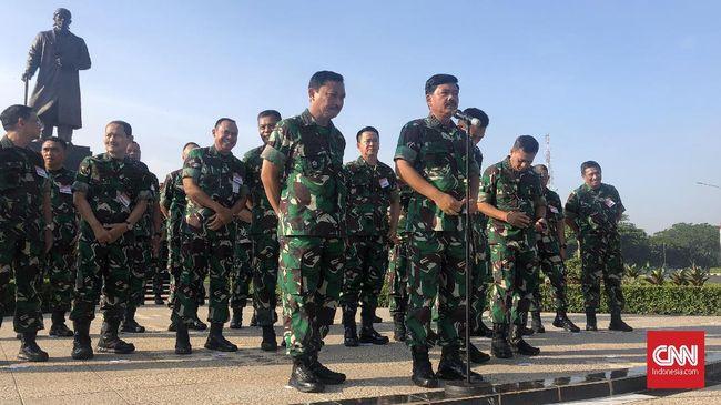 Sebanyak 181 Pati TNI Dimutasi Termasuk Pangkostrad dan Pangdam Jaya