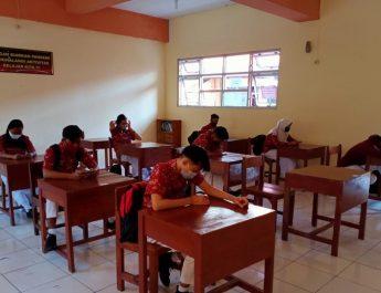 Ribuan Peserta Didik di Kuansing Mulai Ikuti Pembelajaran Tatap Muka Senin Tadi
