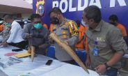 Setelah 5 Bulan Ditahan, Tiga Pelaku Kasus Perdagangan Gading Gajah di Kuansing Baru Disidangkan