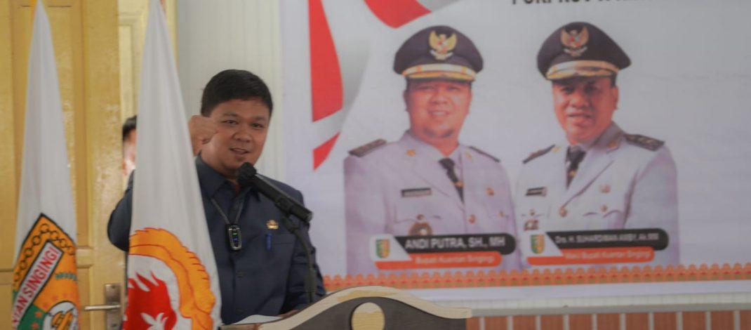Anggaran Konsultan Pengawas Tidak Dialokasikan dalam Bankeu Pemrov Riau. Andi Carikan Solusi