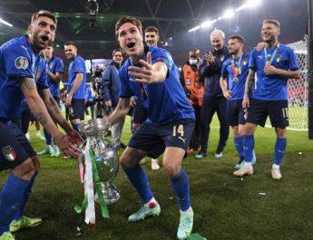 Menunggu 53 tahun, Timnas Italia Berhasil Jadi Pemuncak Piala Euro 2020